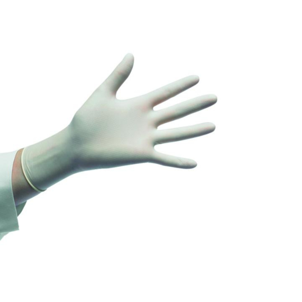 GUANTES LATEX SIN POLVO ESTERIL  Caja 50 PARES
