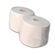 ROLLO PAPEL INDUSTRIAL 2 CAPAS 24,5 X 350 MTS. Pack 2 Rollos
